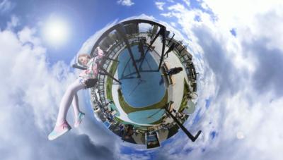 360 photo, little planet
