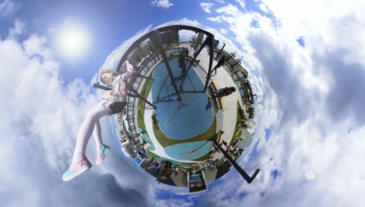 360 photo, little planet